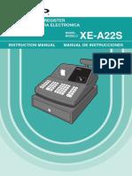 Sharp XE-A22S Cash Register XE-A22S
