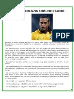 Biography Ronaldinho Gaúcho