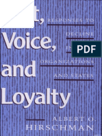 Exit%2c Voice and Loyalty - Responses to Declines in Firms%2c Organizations and States.pdf