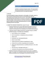 Program Information Guidelines