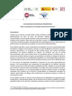 VIII CONCURSO DE REPORTAJES PERIODÍSTICOS