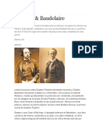 Flaubert y Baudelaire_Link