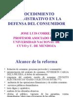 Procedimiento Administrativo en La Defensa Del Consumidor (Dr. Correa)