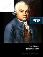 Brevarium Musicalis - CPE Bach