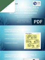 As Patentes Essenciais a Padrões Tecnológicos No Direito Brasileiro