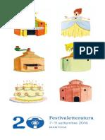 Festivaletteratura 2016, Mantova, programma