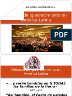 226910648 Metodos de Iglecrecimiento en AmericaLatina