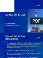Oil & Gas Business Plan