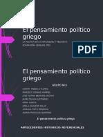 El Pensamiento Político Griego