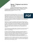 Entrevista Página 12 Peter Cárdenas