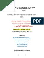Trabajo de Teologia Sistematica Volumen III Pual Tillich