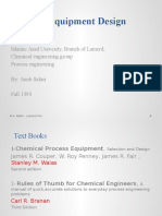 Process Equipment Design 1