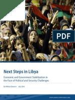 Next Steps in Libya