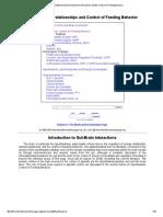Gastrointestinal-Brain (Gut-Brain) Interactions & the Control of Feeding Behavior