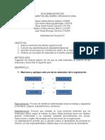 Modalidades Básicas de Departamentalización