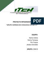 Manual INTEGRADORA II Grupo Harinas de Chihuahua