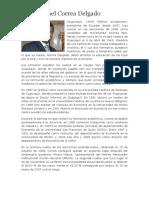 Biografia de Correa