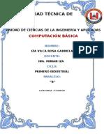 Informe Examen Final