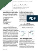 Termoquímica y combustibles