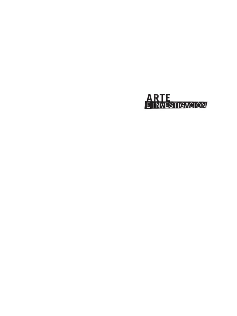 wholesale dealer 1a990 ead59 Arte e Investigación - Año 14 - Número 8