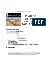 PLAN DE VISITA DE ESTUDIO A PACHACAMAC