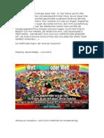 Der Weltfrieden Liegt in Der Hand Der Deutschen