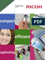 Ricoh Aficio MPC 2050 2550 Brochure