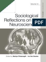 Martyn Pickersgill_ Ira Van Keulen-Sociological Reflections on the Neurosciences