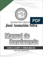 Manual de Convivencia Jose Asuncion Silva v 2016