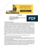 2da Circular Cipial 2016-Español