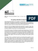 353. Tax sparing, alternative to treaty relief  FDD 7.19.12.pdf