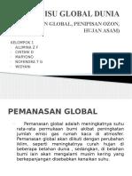 Ppt Kimling-Isu Global Dunia