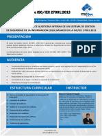 Auditor Interno ISO 27001 2013