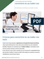 9 trucos para convertirte en un trader con éxito ⋆ Finanzas Pullback