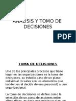 Toma de DecisionesEDW