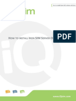 How to Install IQsim ISSO Solution.ed3