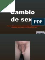 Cambio de Sexo