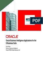 Paul Peters - Keynote - Oracle BI Apps for EBS
