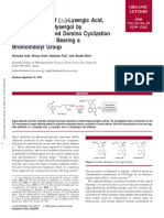 Total-Synthesis-of-±-Lysergic-Acid-Lysergol-and-Isolysergol-by-Palladium-Catalyzed-Domino-Cyclization-of-Amino-Allenes-Bearing-a-Bromoindolyl-Groupae22