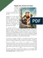 Breve Reseña San Antonio de Padua