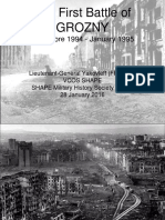 The First Battle of Grozny