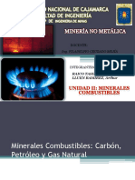 II Minerales Combustibles Exposicion N_1