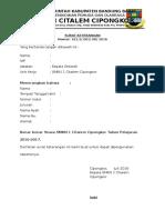 Surat Keterangan Pkh