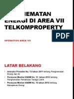 Penghematan Energi Di Area VII TelkomProperty