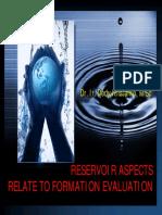 2- Penilaian Formasi (Reservoir Aspects)
