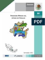 Panorama Minero Hidalgo