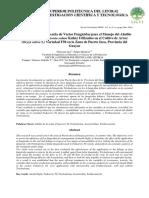 Evaluación de varios fungicidas