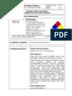 MSDS BioPertamax