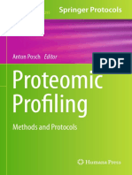 Proteomic Profiling - Methods and Protocols