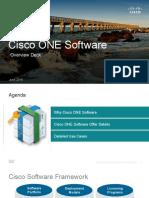 Cisco One Overview